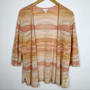 J Jill Santa Fe Sunset Knit Cardigan